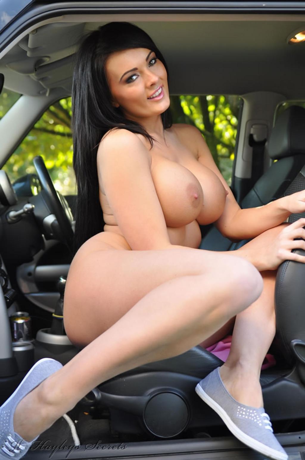 Pornstar car pic