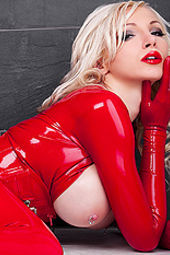 Dreamful Red Wet Catsuit